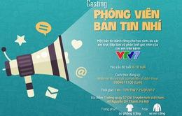 Thử sức làm phóng viên nhí của VTV7