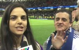 Không khí ngay sau trận chung kết Champions League của các CĐV qua ống kính phóng viên VTV