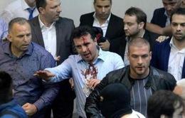 Macedonia: Người biểu tình chiếm tòa nhà Quốc hội