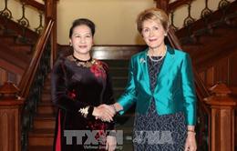 Chủ tịch Quốc hội gặp Thống đốc bang Tây Australia