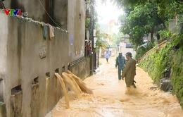 Quảng Ninh: Tìm thấy thi thể học sinh bị tụt xuống cống do mưa lớn