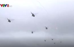 Tổng thống Putin đích thân thị sát cuộc tập trận Zapad