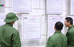 Kết nối việc làm cho quân nhân xuất ngũ