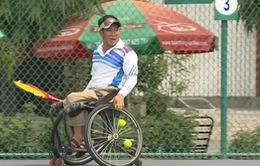 Quần vợt xe lăn: Đam mê vượt lên tất cả