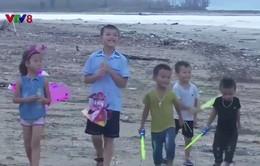 Trung thu của trẻ em vùng bão Quảng Bình