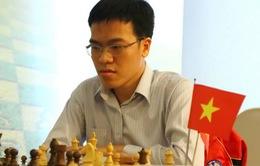 Lê Quang Liêm đánh bại ĐKVĐ cờ nhanh thế giới