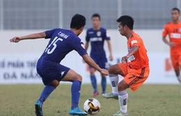 Bán kết lượt đi cúp Quốc gia 2017: SHB Đà Nẵng 1-3 B.Bình Dương, SLNA 4-1 CLB Quảng Nam