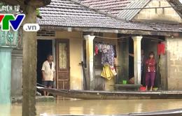 Mưa lớn kéo dài gây ngập lụt tại nhiều vùng trũng tỉnh Quảng Trị