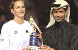 Pliskova vô địch giải quần vợt WTA Qatar 2017