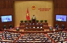 Kỳ họp thứ 4, Quốc hội khóa XIV: Tiến hành phê chuẩn việc bổ nhiệm hai thành viên Chính phủ