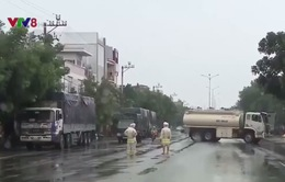 Quốc lộ 1A đoạn đi qua Đà Nẵng, Quảng Nam bị chia cắt