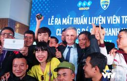 Toàn cảnh buổi ra mắt tân HLV Mihail Marian Cucchiaroni của CLB FLC Thanh Hóa