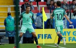 Cúp Liên đoàn các châu lục 2017: Ronaldo tỏa sáng, ĐT Bồ Đào Nha có chiến thắng đầu tiên