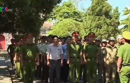 Thừa Thiên - Huế ra quân đảm bảo an ninh trật tự