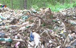 Phát hiện lượng lớn rác thải đổ ra môi trường ở Lâm Đồng