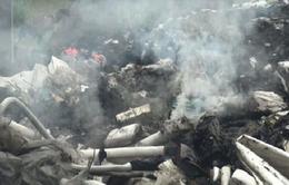 TP.HCM: Bắt quả tang hành vi đổ chất thải của KCN ra môi trường