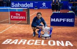 Nadal được đặt tên sân trung tâm tại Barcelona Open