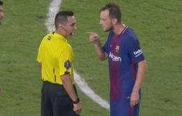 Sao Barca điên tiết vì bị trọng tài xúc phạm trong trận El Clasico