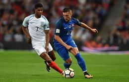 Kết quả vòng loại World Cup 2018 khu vực châu Âu: Marcus Rashford giúp ĐT Anh ngược dòng thành công