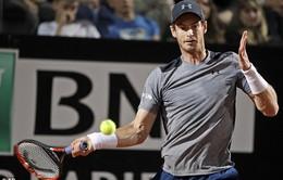 Vòng 2 Roma Mở rộng 2017: Andy Murray tiếp tục tụt dốc