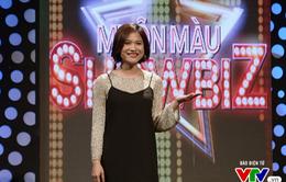Trở lại Muôn màu Showbiz, MC Mai Trang cực đáng yêu với mái tóc ngắn