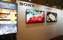 Sony trình làng màn hình chuyên dụng LED 4K tại Việt Nam