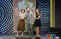 """MC Phí Linh và MC Mai Trang """"bủa vây"""" Quán quân Gương mặt thân quen"""