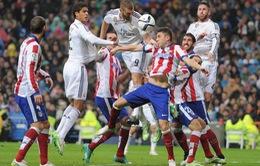 01h45 ngày 3/5 - Bán kết lượt đi Champions League: Real Madrid - Atletico Madrid (Trực tiếp trên VTV3)
