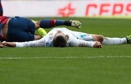 Bão chấn thương quét qua nửa đội hình Real Madird