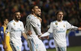 Kết quả Champions League sáng ngày 22/11: Real đại thắng, Liverpool chia điểm phút cuối