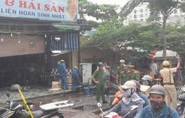 Cháy quán nhậu ở Đồng Nai, hàng chục thực khách chạy tán loạn