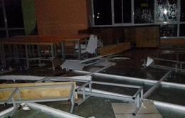 Ký túc xá Đại học Quốc gia TP.HCM tan hoang sau mưa lớn