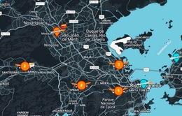 Brazil phát triển ứng dụng theo dõi các vụ bắn súng tại Rio de Janeiro