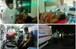 Rò rỉ khí clo tại Iran, 300 người phải cấp cứu