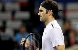 Roger Federer giành quyền vào tứ kết Thượng Hải Masters 2017