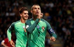 Kết quả bóng đá sáng 10/6: ĐT Pháp thua ngược ĐT Thụy Điển, Ronaldo lập cú đúp vào lưới Latvia