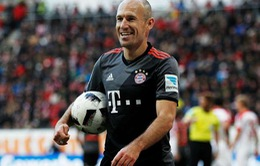 Arjen Robben gia hạn hợp đồng với Bayern đến 2018