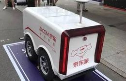 JD.com sử dụng robot giao hàng