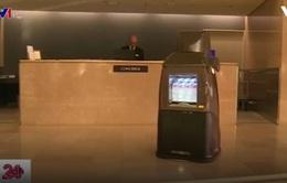 Nhật Bản thử nghiệm robot biết chào hỏi, bán nước tại khách sạn, sân bay