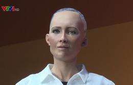 Robot Sophia có thể mô phỏng hơn 60 biểu cảm gương mặt con người