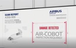 Giảm khả năng sai sót kỹ thuật bằng robot kiểm tra máy bay