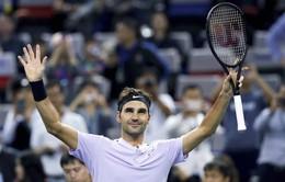 Dễ dàng đánh bại Gasquet, Roger Federer vào bán kết Thượng Hải Masters 2017