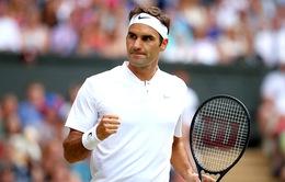 Vô địch Wimbledon, Federer lên ngôi số 3 thế giới