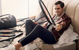 Phát sốt với vẻ lịch lãm của Roger Federer trên tạp chí GQ