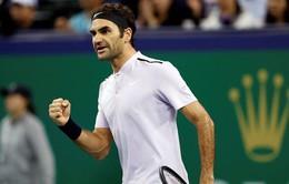Bán kết Thượng Hải Masters: Federer ngược dòng ngoạn mục trước Del Potro