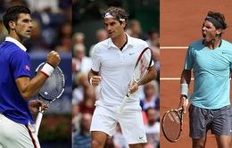 Phải rất lâu nữa tennis mới lại có Nadal, Federer hay Djokovic