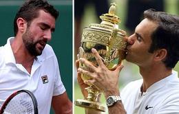 Những khoảnh khắc của trận chung kết đơn nam Wimbledon 2017