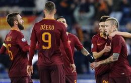 Cúp Quốc gia Italia: Đại thắng Sampdoria, AS Roma vào tứ kết