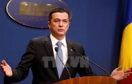 Rumani sẽ hủy sắc lệnh liên quan đến tham nhũng