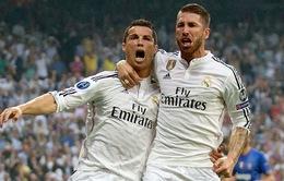 Ramos trước cơ hội cùng Ronaldo lập kỷ lục ở Champions League
